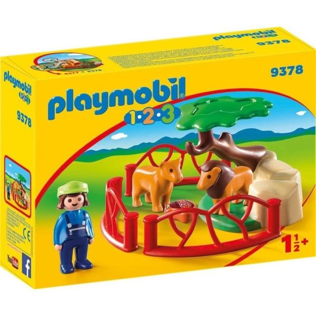 Obrázek produktu Playmobil 9378 Ohrada se lvi (1.2.3)