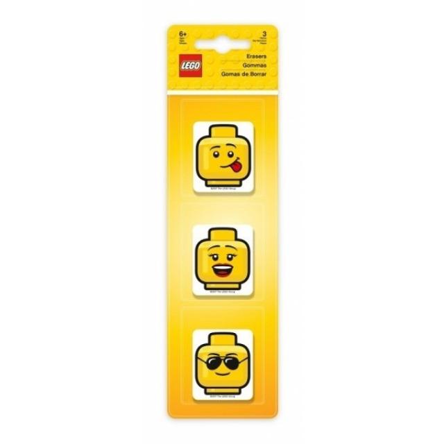 Obrázek produktu LEGO Iconic Guma hlavy 3 ks