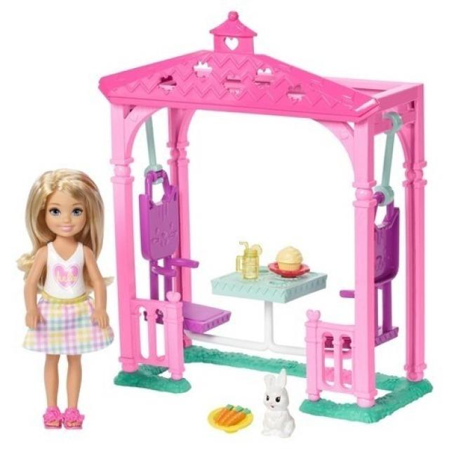 Obrázek produktu Barbie Chelsea a altánek s občerstvením, Mattel FDB34