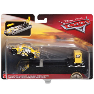 Obrázek 1 produktu Cars 3 Vystřelovač s autíčkem Brian Spark, Mattel FLH78