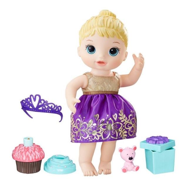 Obrázek produktu Baby Alive Narozeninová blonďatá panenka