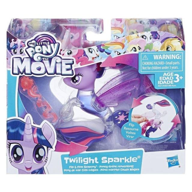 Obrázek produktu MLP My Little Pony Mořský poník měnící barvu Twilight Sparkle, Hasbro E0714