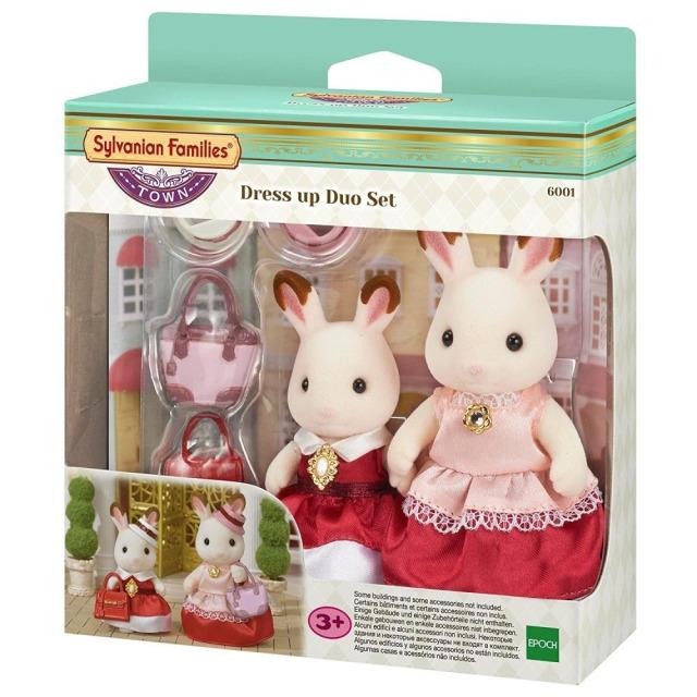 Obrázek produktu Sylvanian Families 6001 Město - 2 králičí kamarádky v elegantních šatech
