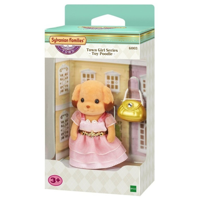 Obrázek produktu Sylvanian Families 6004 Město - Pudlice v růžových šatech s kabelkou
