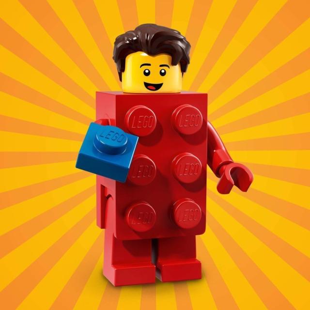 Obrázek produktu LEGO 71021 minifigurka Kostým Červená kostka