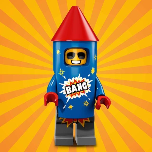 Obrázek produktu LEGO 71021 minifigurka Kostým Ohňostroj