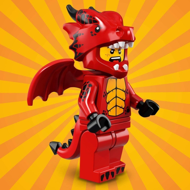 Obrázek produktu LEGO 71021 minifigurka Kostým Drak