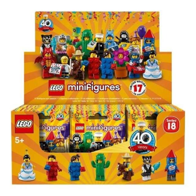 Obrázek produktu LEGO 71021 Originální Box 60 minifigurek 18. série