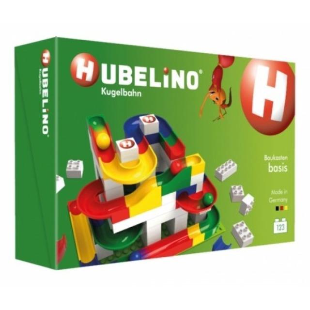 Obrázek produktu HUBELINO Kuličková dráha Set s kostkami Basic 123 ks