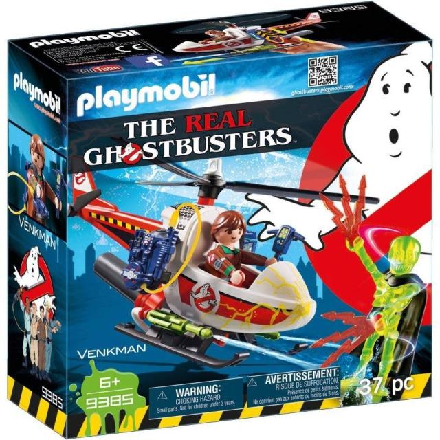 Obrázek produktu Playmobil 9385 The Real Ghostbusters Venkman s helikoptérou