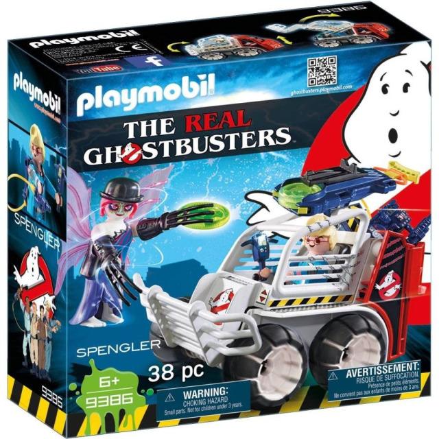 Obrázek produktu Playmobil 9386 The Real Ghostbusters Spengler ve vozidle s klecí