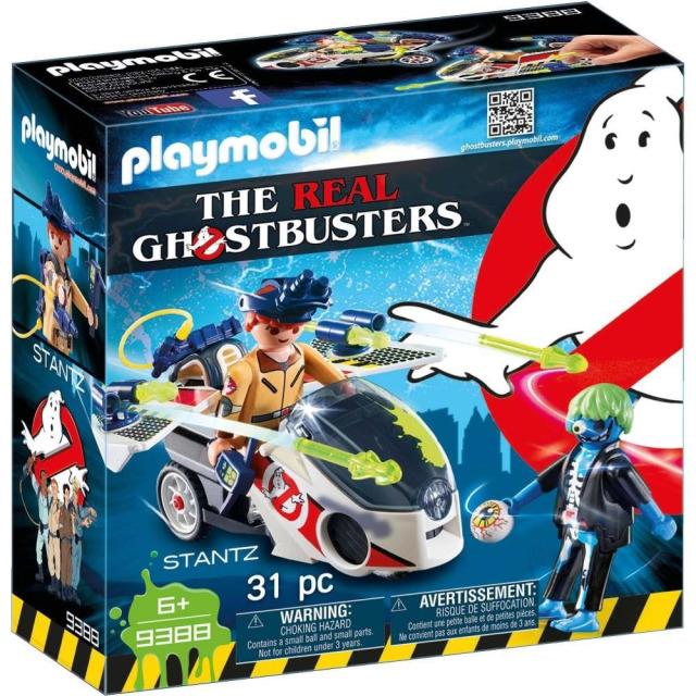 Obrázek produktu Playmobil 9388 The Real Ghostbusters Stantz a Skybike
