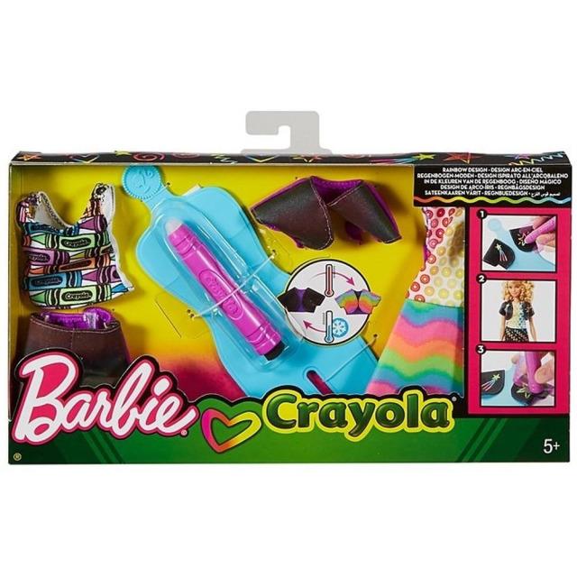 Obrázek produktu Barbie D.I.Y. Crayola magický vzor , Mattel FHW87