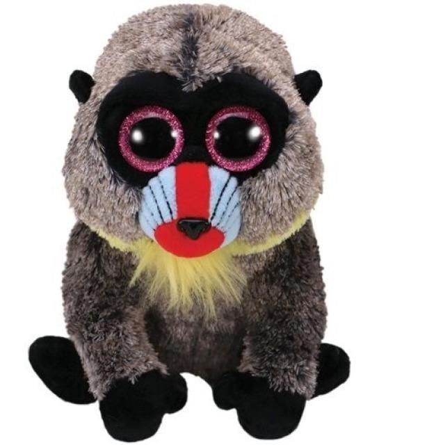 Obrázek produktu Plyšový pavián Wasabi s velkýma očima 15cm