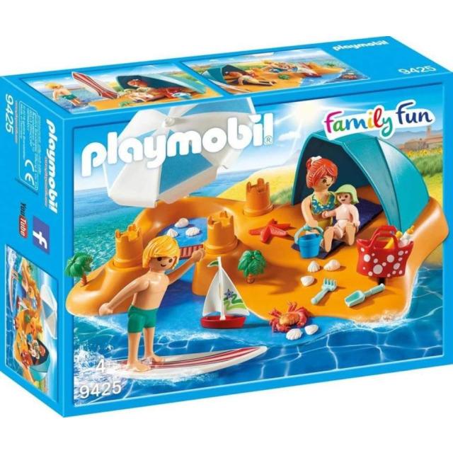 Obrázek produktu Playmobil 9425 Rodina na pláži