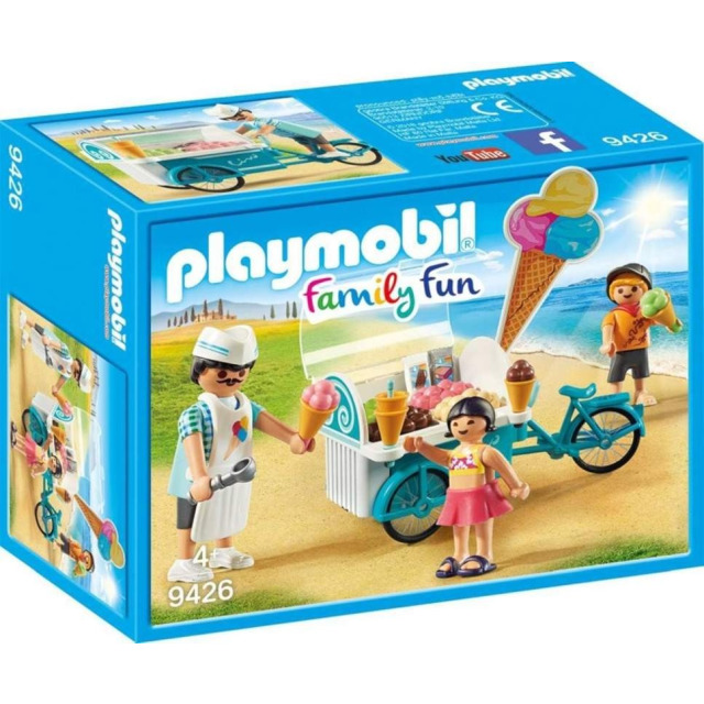 Obrázek produktu Playmobil 9426 Pojizdný zmrzlinový vozík
