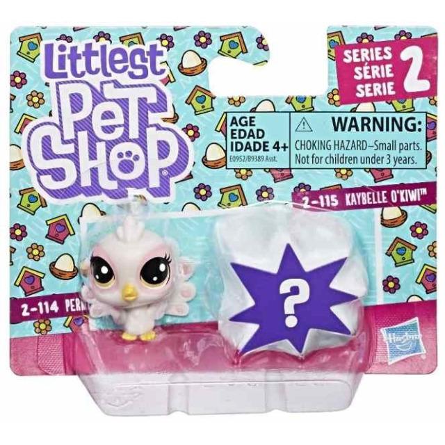 Obrázek produktu LPS Dvě zvířátka Perky Peacoki & Kaybelle OKiwi, Hasbro E0952