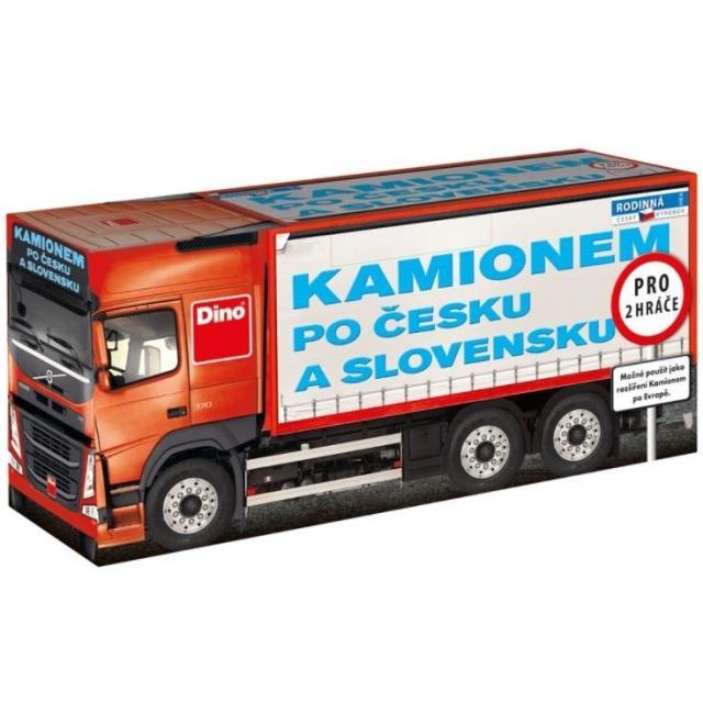 Obrázek produktu Kamionem po Česku a Slovensku, hra