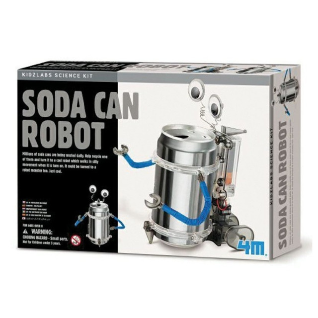 Obrázek produktu KidzLabs Robot z plechovky
