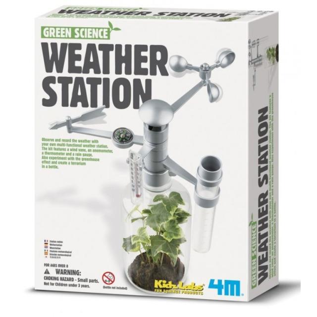 Obrázek produktu KidzLabs Meteorologická stanice Mini observatoř