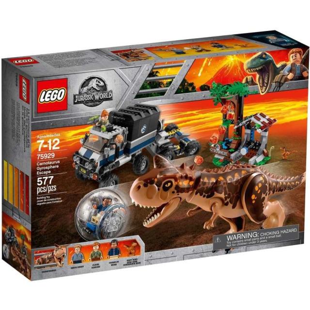 Obrázek produktu LEGO Jurassic World 75929 Útěk Carnotaura zGyrosféry