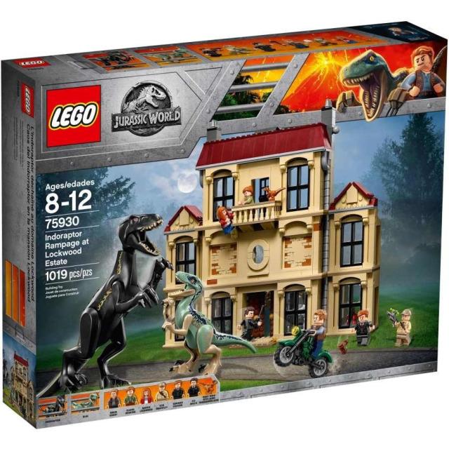 Obrázek produktu LEGO Jurassic World 75930 Řádění Indoraptora vLockwoodově sídle