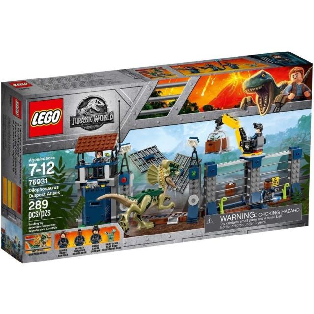 Obrázek produktu LEGO Jurassic World 75931 Útok Dilophosaura na hlídku