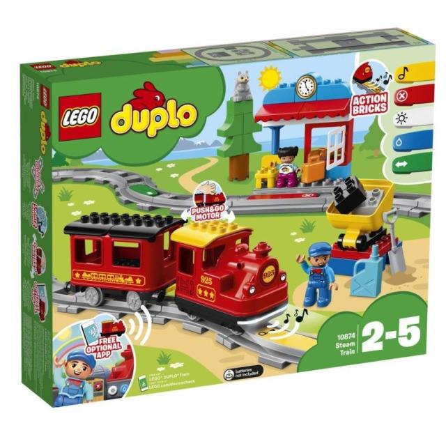 Obrázek produktu LEGO DUPLO 10874 Parní vláček