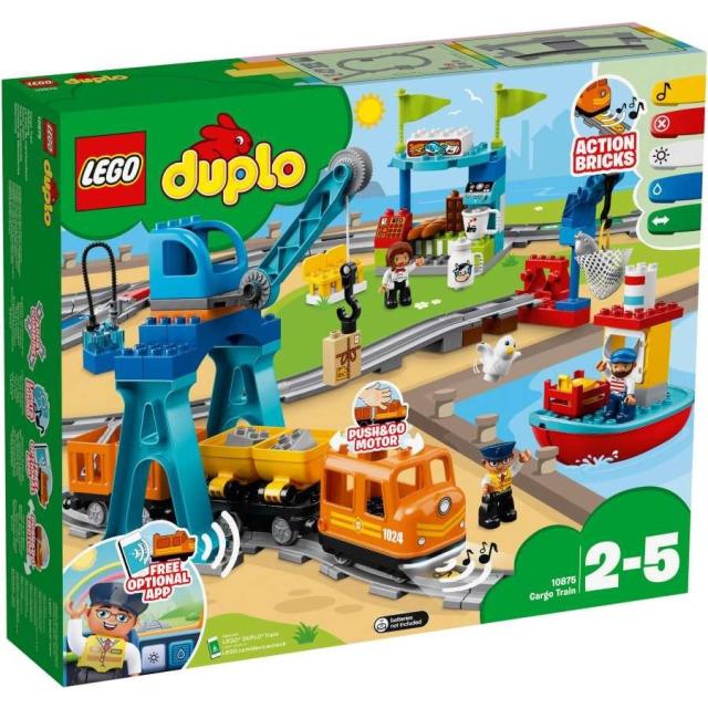 Obrázek produktu LEGO DUPLO 10875 Nákladní vlak