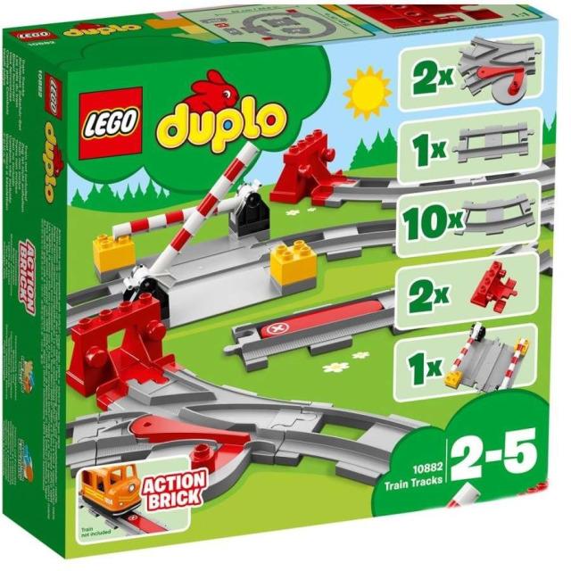 Obrázek produktu LEGO DUPLO 10882 Koleje