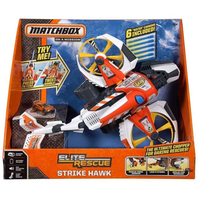 Obrázek produktu Matchbox Záchranný vrtulník, Mattel CCW77