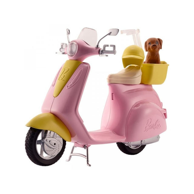 Obrázek produktu Mattel Barbie skútr, FRP56