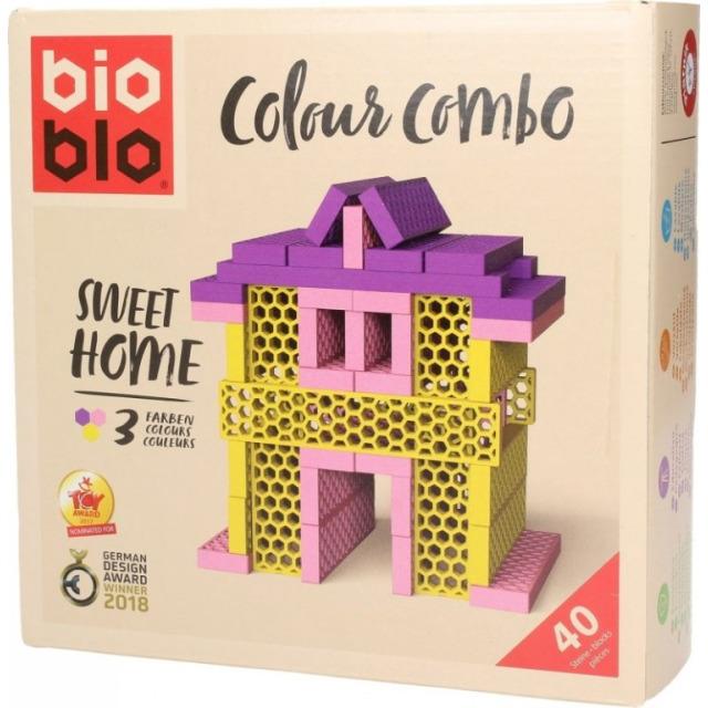 Obrázek produktu Piatnik Bioblo Colours Home, 40 dílků