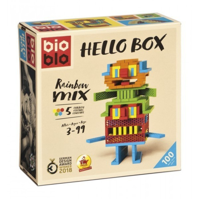 Obrázek produktu Piatnik Bioblo Hello Box, 100 dílků