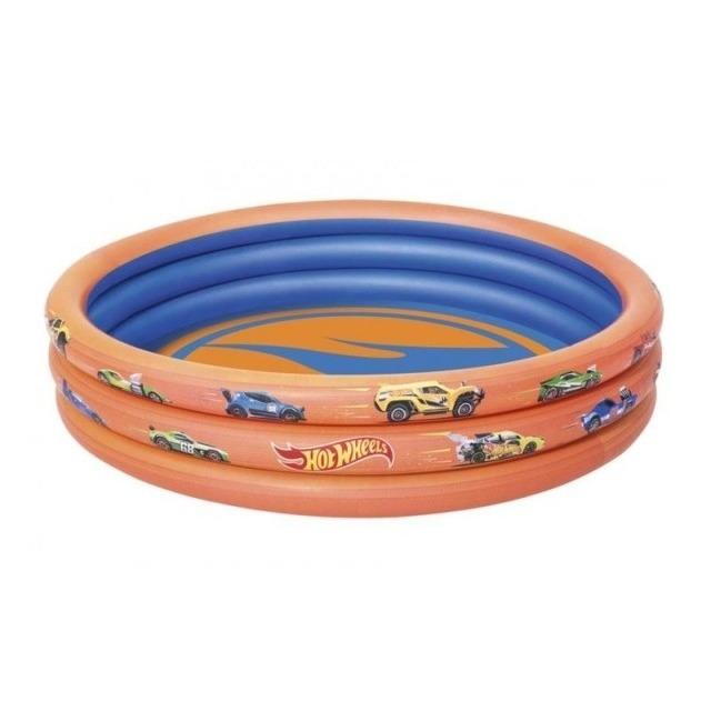 Obrázek produktu BestWay Nafukovací bazének Hot Wheels, průměr 1,22m, výška 25cm