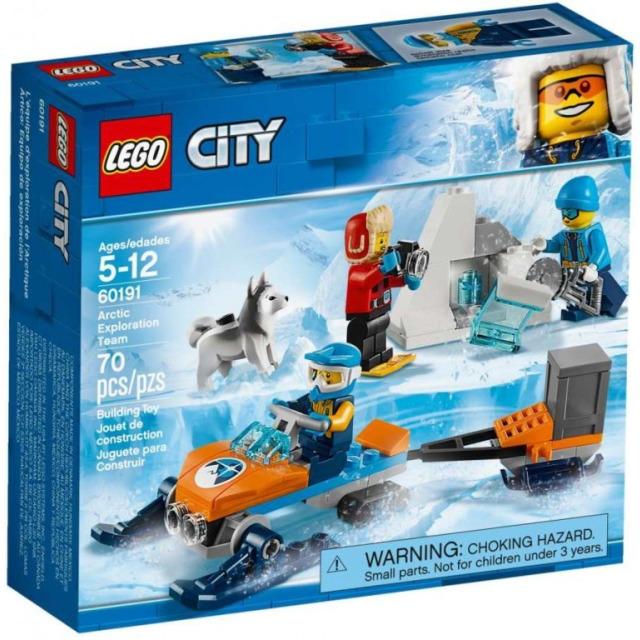 Obrázek produktu LEGO City 60191 Průzkumný polární tým