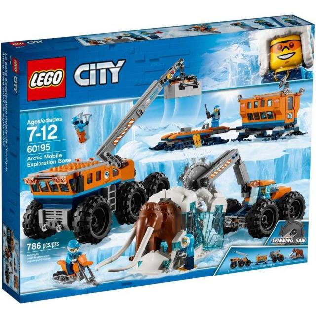Obrázek produktu LEGO CITY 60195 Mobilní polární stanice