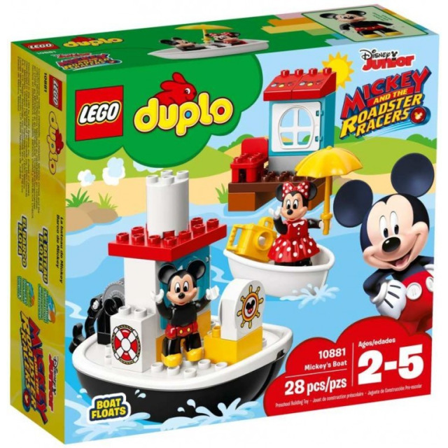 Obrázek produktu LEGO DUPLO 10881 Mickeyho loďka