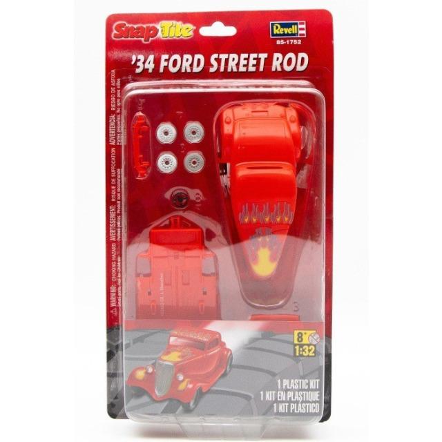 Obrázek produktu Revell 1752 SnapTite '34 Ford Street Rod 1:32