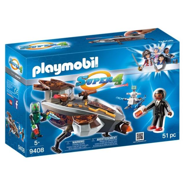 Obrázek produktu Playmobil 9408 Vesmírná loď Sykroňanů a Gene