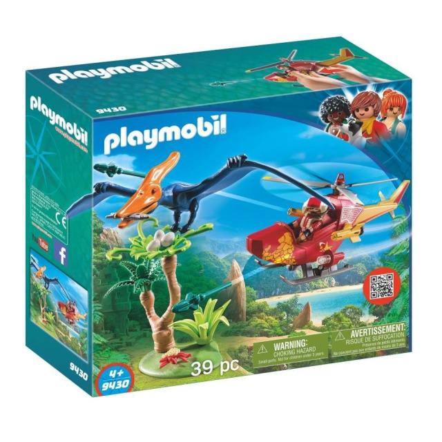 Obrázek produktu Playmobil 9430 Vrtulník s Pterodactylem