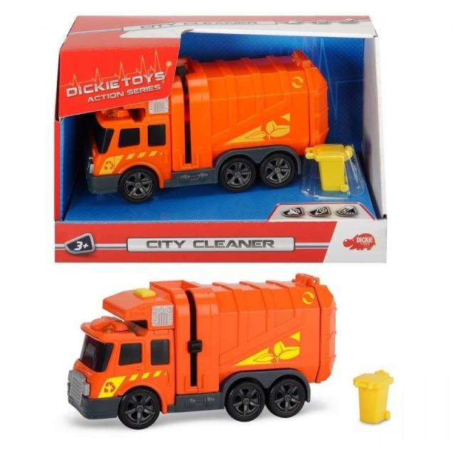 Obrázek produktu Popelářské auto 15cm, světlo, zvuk, Dickie