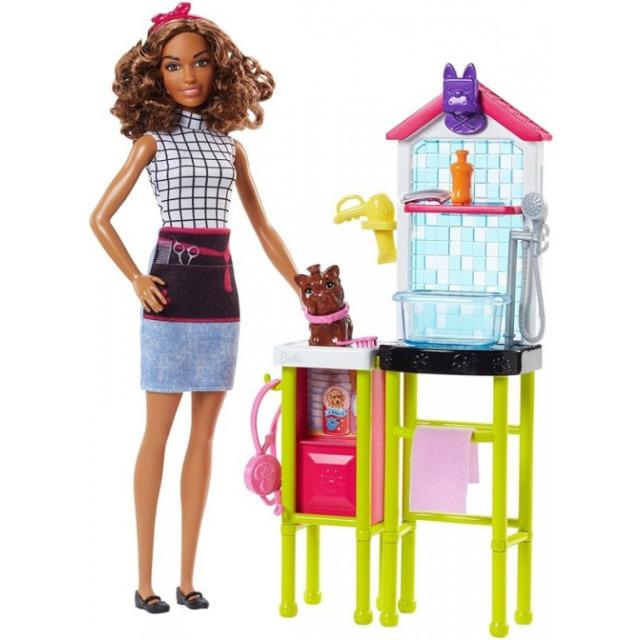 Obrázek produktu Barbie Povolání herní set Psí salón, Mattel FJB31