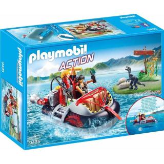 Obrázek 1 produktu Playmobil 9435 Nafukovací vznášedlo s motorem