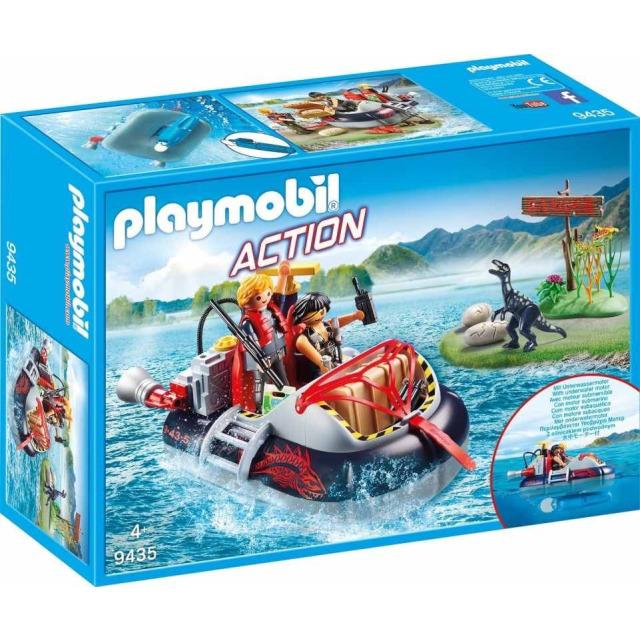 Obrázek produktu Playmobil 9435 Nafukovací vznášedlo s motorem