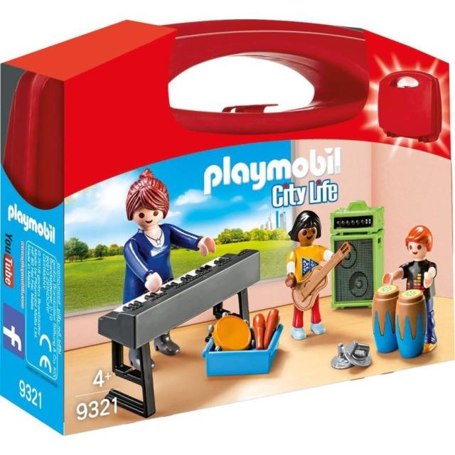 Obrázek produktu Playmobil 9321 Přenosný kufřík Muzikanti