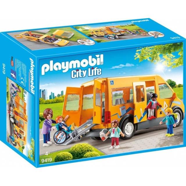 Obrázek produktu Playmobil 9419 Školní autobus