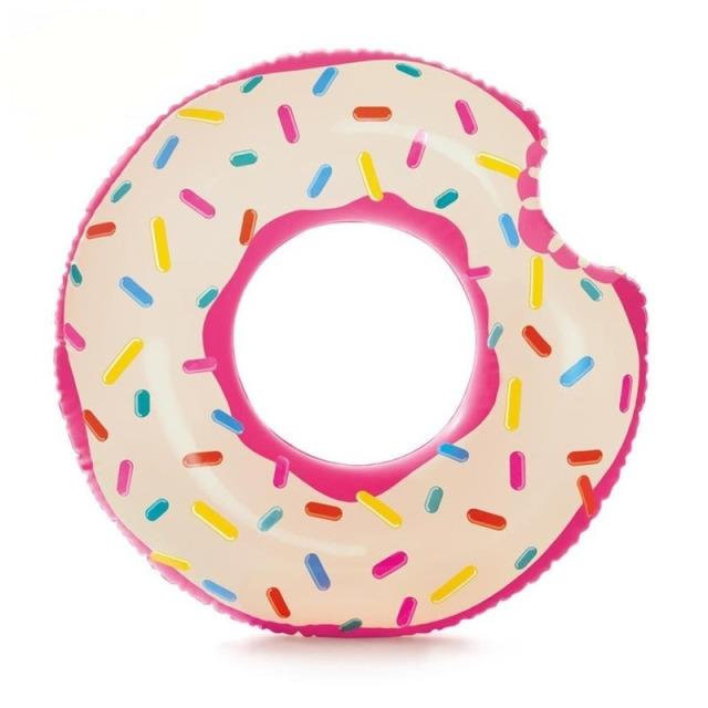 Obrázek produktu Intex 56265 Nafukovací kruh donut nakousnutý 94cm