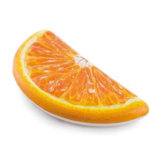 Obrázek 1 produktu Intex 58763 Nafukovací matrace plátek pomeranče 1,78m x 85cm