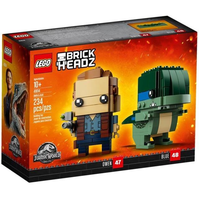 Obrázek produktu LEGO BrickHeadz 41614 Jurrasic World Owen & Blue